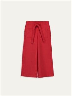 Kırmızı Kız Çocuk Pantolon 9WQ053Z4 LC Waikiki