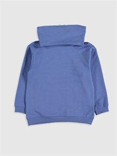 %80 Pamuk %20 Polyester  Kız Çocuk Baskılı Sweatshirt