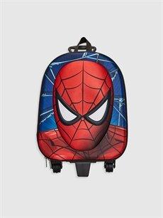 9WR107Z4 Erkek Çocuk Spiderman Lisanslı Çekçekli Çanta