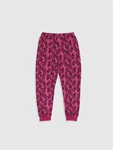 %68 Pamuk %32 Polyester Kız Çocuk Lol Bebek Baskılı Pijama Takımı