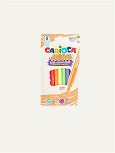 Çok Renkli Carioca Fosforlu Keçeli Boya Kalemi 8'li 9WR921Z4 LC Waikiki