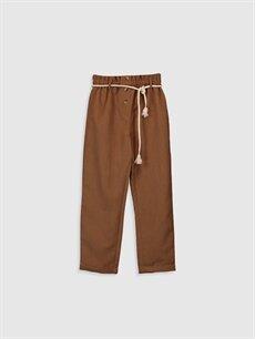 Kız Çocuk Kız Çocuk Kadife Pantolon