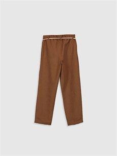 %100 Polyester Kız Çocuk Kadife Pantolon