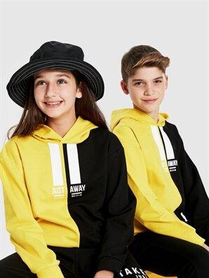 Unisex Çocuk Kapüşonlu Sweatshirt - LC WAIKIKI