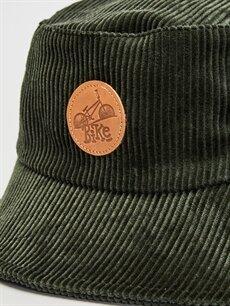 Erkek Çocuk Erkek Çocuk Balıkçı Kadife Şapka
