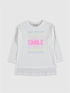 Kız Çocuk Kız Çocuk Pamuklu Tişört ve Tayt