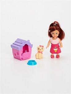 %100 Diğer  Kız Çocuk Oyuncak Bebek ve Köpek Seti