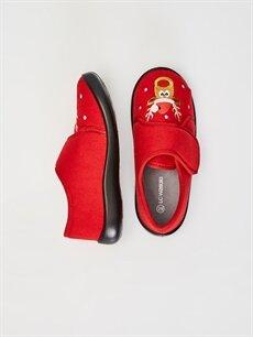 Tekstil malzemeleri Tekstil malzemeleri  Erkek Çocuk Cırt Cırtlı Ev Ayakkabısı