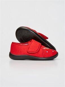 Erkek Çocuk Erkek Çocuk Cırt Cırtlı Ev Ayakkabısı