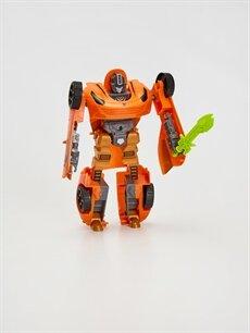 Erkek Çocuk Oyuncak Dönüşen Robot