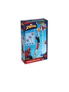 Dede Spiderman Ayaklı Basketbol Set