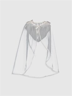 Kız Çocuk Daisy Girl Kız Çocuk Pelerinli Tüllü Abiye Elbise