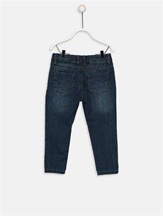 %67 Pamuk %21 Polyester %1 Elastan %11 Viskoz  Erkek Bebek Jean Jogger Pantolon