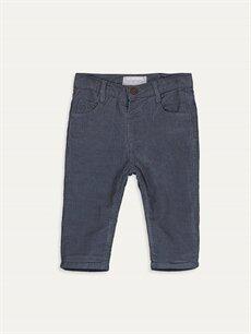 Gri Erkek Bebek Kadife Pantolon 9W0330Z1 LC Waikiki