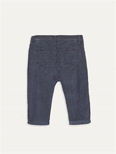 %100 Pamuk %96 Pamuk %4 Viskon Normal Erkek Bebek Kadife Pantolon