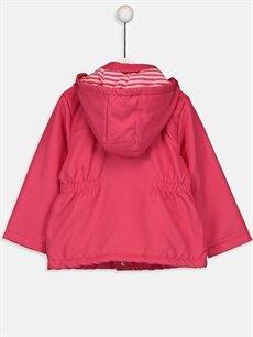 %100 Polyester %100 Polyester Mont Kız Bebek Yazı Baskılı Mont