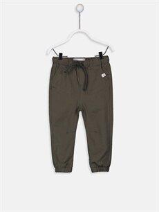 Kahverengi Erkek Bebek Jogger Pantolon 9W0480Z1 LC Waikiki