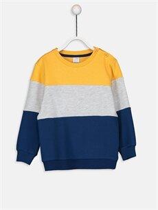 Turuncu Erkek Bebek Sweatshirt 9W0856Z1 LC Waikiki