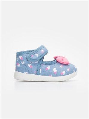 Kız Bebek Fiyonklu Babet Ayakkabı - LC WAIKIKI