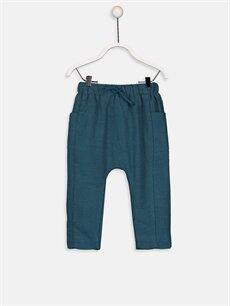 Turkuaz Erkek Bebek Kalın Jogger Pantolon 9W1663Z1 LC Waikiki