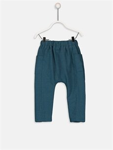 %63 Polyester %3 Elastan %34 Viskon %50 Pamuk %50 Polyester  Erkek Bebek Kalın Jogger Pantolon