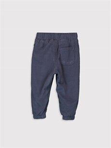 %100 Pamuk %100 Polyester Bol Erkek Bebek Jogger Kadife Pantolon