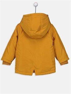 %100 Polyester %100 Polyester Kaban Erkek Bebek Fermuarlı Kalın Kaban