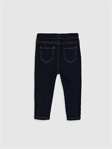 %81 Pamuk %14 Polyester %5 Elastan Bol Erkek Bebek Jean Pantolon
