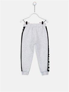 %64 Pamuk %36 Polyester  Erkek Bebek Jogger Pantolon