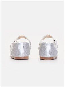 Kız Bebek Parlak Görünümlü Babet Ayakkabı