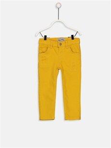 Sarı Erkek Bebek Skınny Jean Pantolon  9W3569Z1 LC Waikiki