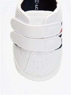 LC Waikiki Beyaz Erkek Bebek Cırt Cırtlı Ayakkabı