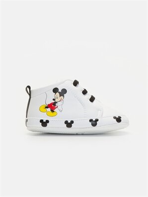 Erkek Bebek Mickey Mouse Baskılı Panduf - LC WAIKIKI