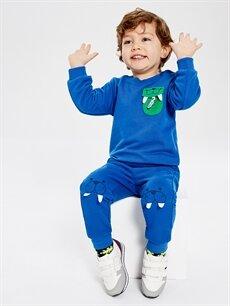 Erkek Bebek Erkek Bebek Jogger Eşofman Altı