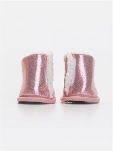 Kız Bebek Parlak Ev Ayakkabısı
