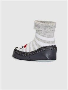 Erkek Bebek Erkek Bebek Havlu Ev Çorabı