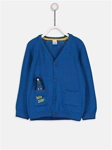 Mavi Erkek Bebek Triko Hırka 9W6777Z1 LC Waikiki