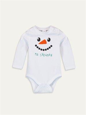 Erkek Bebek Baskılı Çıtçıtlı Body - LC WAIKIKI