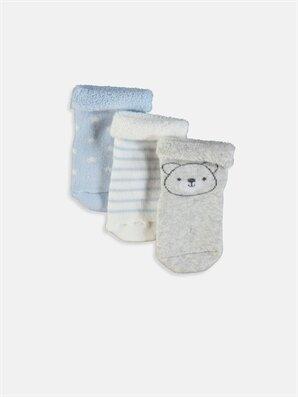 Erkek Bebek Soket Çorap 3'lü - LC WAIKIKI