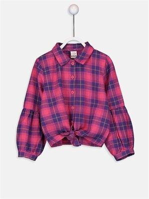 Kız Bebek Ekose Twill Gömlek - LC WAIKIKI