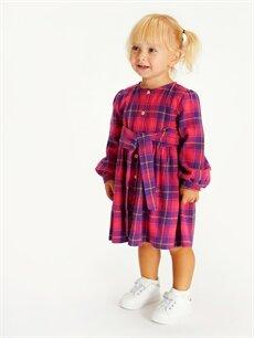 Kız Bebek Kız Bebek Ekose Twil Elbise