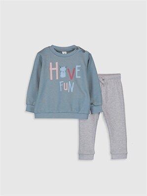 Erkek Bebek Swearshirt ve Pantolon - LC WAIKIKI