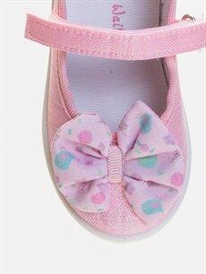 LC Waikiki Pembe Kız Bebek Babet Ayakkabı