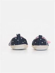 Kız Bebek Puantiyeli Espadril Ayakkabı