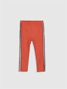 Turuncu Kız Bebek Pamuklu Pantolon 9WJ092Z1 LC Waikiki