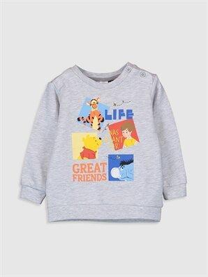 Erkek Bebek Winnie The Pooh Baskılı Sweatshirt - LC WAIKIKI