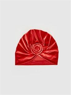 Kırmızı Kız Bebek Kadife Bere  9WJ386Z1 LC Waikiki