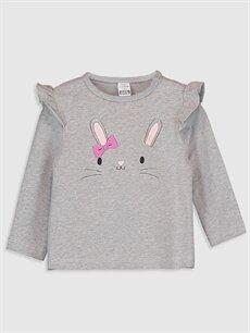 Kız Bebek Kız Bebek Desenli Tişört 2'li