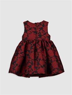 %100 Polyester %100 Pamuk  Kız Bebek Desenli Elbise