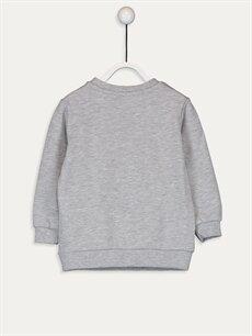 %75 Pamuk %25 Polyester  Erkek Bebek Harika Kanatlar Sweatshirt